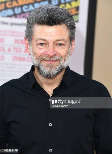 "Andy Serkis arrives at the Sony Pictures' ""Once Upon A Time...In Hollywood"" Los Angeles Premiere on July 22, 2019 in Hollywood, California."
