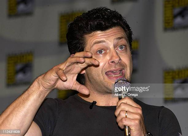 "Andy Serkis as the voice of Gollum from ""Lord Of The Rings: The Two Towers"""