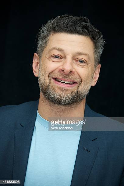 Andy Serkis at the Dawn Of The Planet Of The Apes Press Conference at the Ritz Carlton Hotel on June 27 2014 in San Francisco California