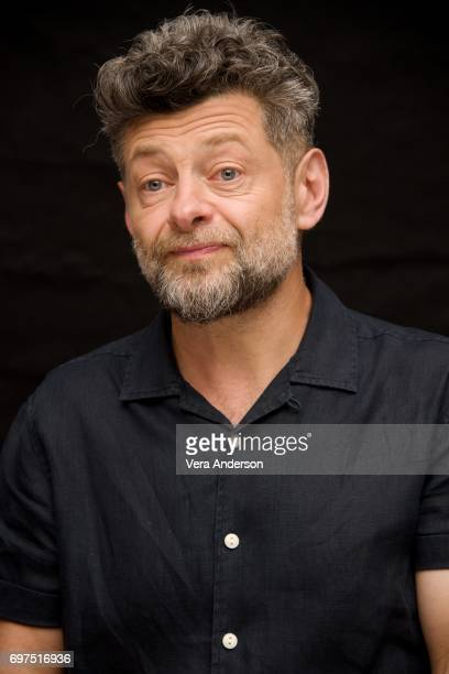 Andy Serkis at the War for the Planet of the Apes Press Conference at the SoHo Hotel on June 18 2017 in London England
