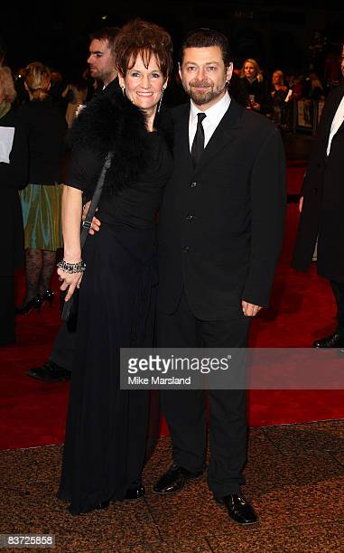 Andy Serkis attend Cinema & Television Benevolent Fund Royal Film Performance 2008: A Bunch Of Amateurs at Odeon Leicester Square on November 17,...