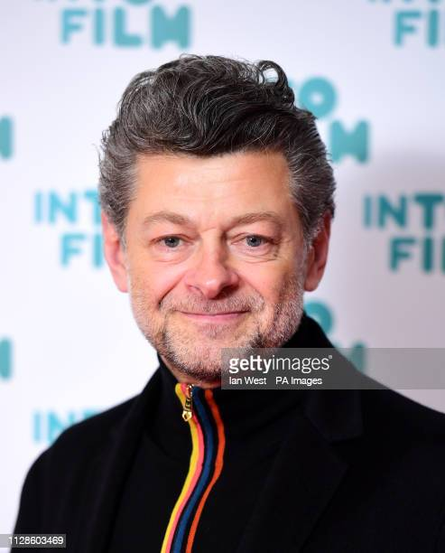 Andy Serkis attending the fifth annual Into Film Awards, held at the Odeon Luxe in Leicester Square, London.