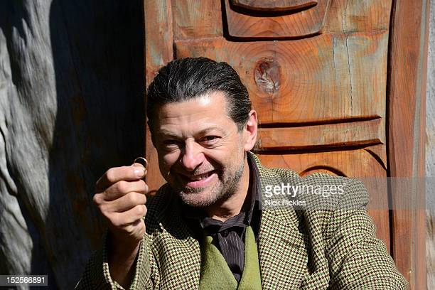 Andy Serkis attends a photocall for The Hobbit: Second Breakfast celebrating the 75th anniversary of the publication of The Hobbit on September 22,...