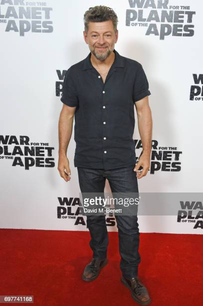 Andy Serkis attends a special screening of 'The War For The Planet Of The Apes' at The Ham Yard Hotel on June 19 2017 in London England