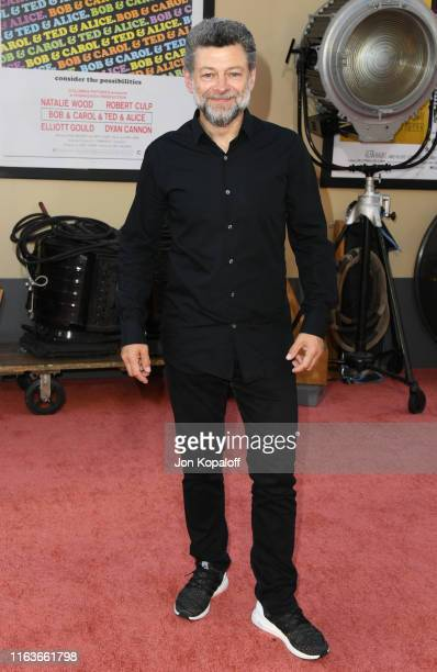 Andy Serkis attends Sony Pictures' Once Upon A TimeIn Hollywood Los Angeles Premiere on July 22 2019 in Hollywood California