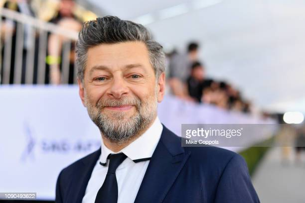 Andy Serkis attends the 25th Annual Screen Actors Guild Awards at The Shrine Auditorium on January 27, 2019 in Los Angeles, California. 480543