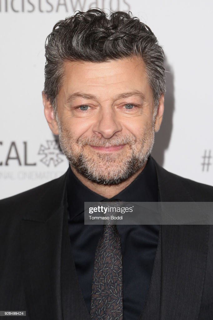 Andy Serkis attends the 55th Annual International Cinematographers Guild Publicists Awards at The Beverly Hilton Hotel on March 2, 2018 in Beverly Hills, California.