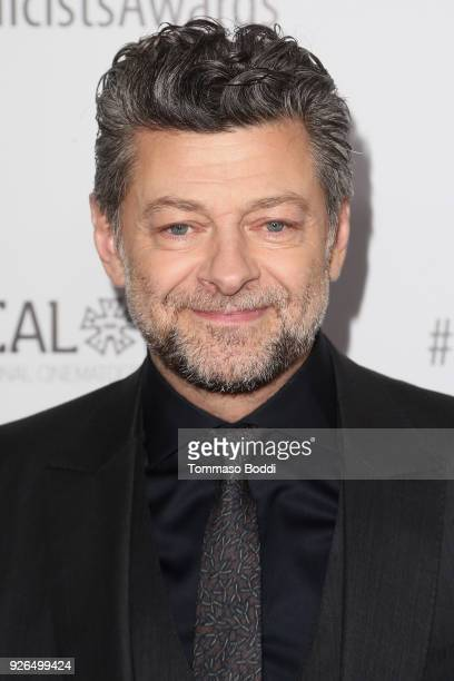 Andy Serkis attends the 55th Annual International Cinematographers Guild Publicists Awards at The Beverly Hilton Hotel on March 2, 2018 in Beverly...
