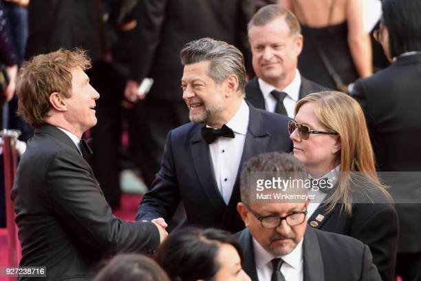 Andy Serkis attends the 90th Annual Academy Awards at Hollywood Highland Center on March 4 2018 in Hollywood California