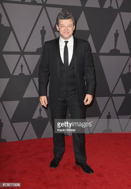 Andy Serkis attends the Academy of Motion Picture Arts and Sciences' 9th Annual Governors Awards at The Ray Dolby Ballroom at Hollywood Highland...
