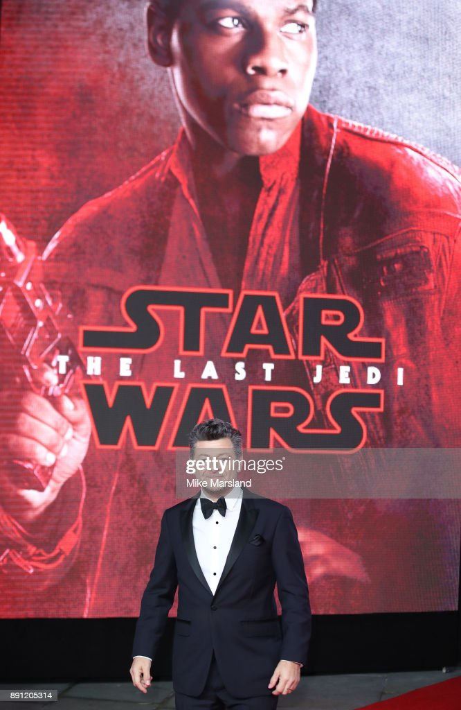 Andy Serkis attends the European Premiere of 'Star Wars: The Last Jedi' at Royal Albert Hall on December 12, 2017 in London, England.