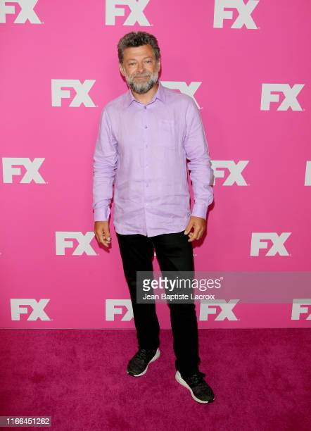 Andy Serkis attends the FX Networks Starwalk Red Carpet At TCA at The Beverly Hilton Hotel on August 06 2019 in Beverly Hills California
