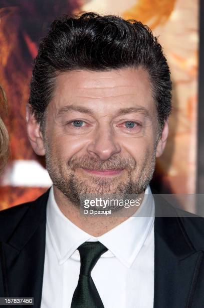 "Andy Serkis attends ""The Hobbit: Unexpected Journey"" premiere at the Ziegfeld Theater on December 6, 2012 in New York City."