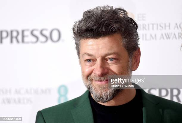 Andy Serkis attends the Nespresso British Academy Film Awards nominees party at Kensington Palace on February 9 2019 in London England