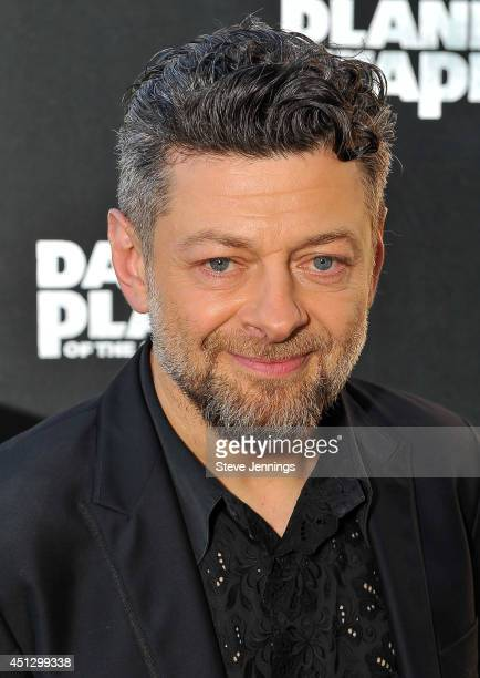 Andy Serkis attends the premiere of Dawn of the Planet of the Apes at Palace Of Fine Arts Theater on June 26 2014 in San Francisco California