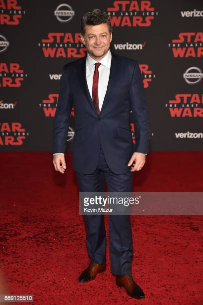Andy Serkis attends the premiere of Disney Pictures and Lucasfilm's 'Star Wars The Last Jedi' at The Shrine Auditorium on December 9 2017 in Los...