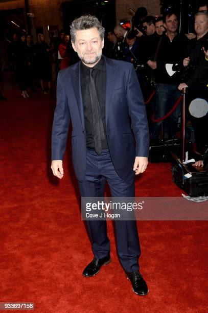 Andy Serkis attends the Rakuten TV EMPIRE Awards 2018 at The Roundhouse on March 18, 2018 in London, England.