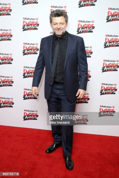 Andy Serkis attends the Rakuten TV EMPIRE Awards 2018 at The Roundhouse on March 18 2018 in London England