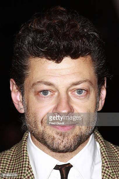 Andy Serkis attends the screening of 'Bright Star' during The Times BFI London Film Festival at Odeon Leicester Square on October 19 2009 in London...