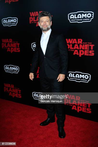 Andy Serkis attends the 'War For The Planet Of The Apes' New York Premiere at SVA Theatre on July 10 2017 in New York City