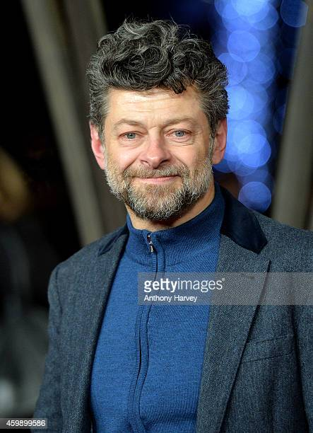 "Andy Serkis attends the World Premiere of ""Exodus Gods and Kings"" at Odeon Leicester Square on December 3, 2014 in London, England."