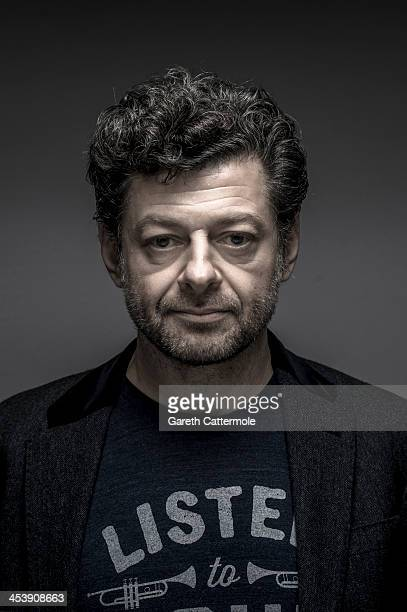 Andy Serkis during a portrait session at the Cinematic Innovation Summit ahead of the 10th Annual Dubai International Film Festival at Atlantis The...