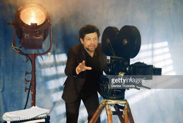 Andy Serkis is photographed for People Magazine on March 27 2014 in Las Vegas Nevada