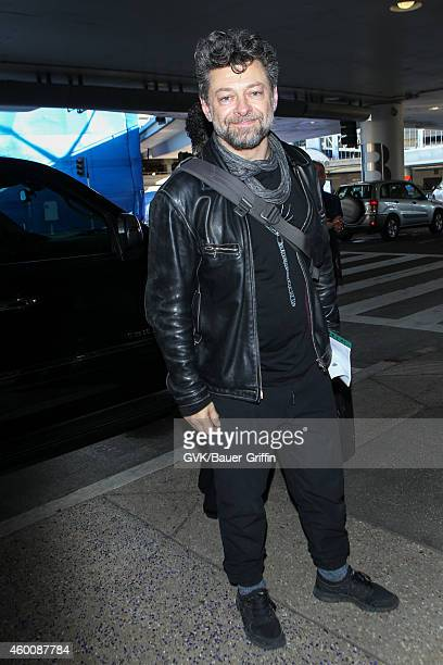 Andy Serkis is seen at LAX on December 06 2014 in Los Angeles California