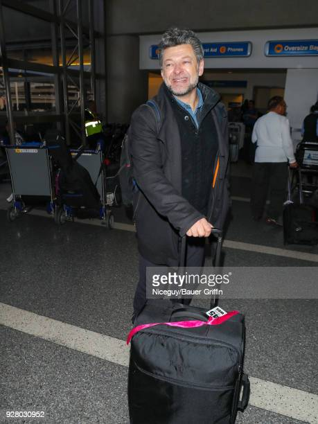 Andy Serkis is seen at 'Los Angeles International Airport' on March 05 2018 in Los Angeles California