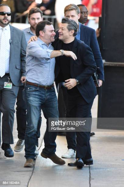 Andy Serkis is seen on December 01 2017 in Los Angeles California