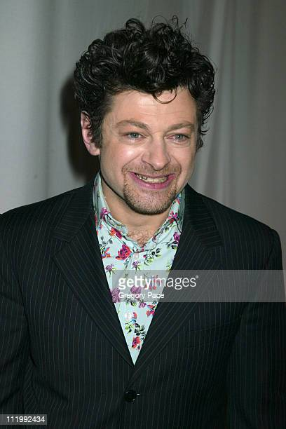 Andy Serkis of 'The Lord of the Rings' during The 2003 National Board of Review of Motion Pictures Annual Awards Gala at Tavern on the Green in New...