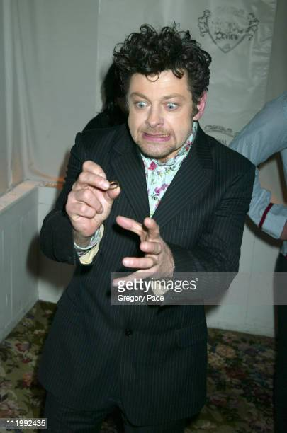 "Andy Serkis of ""The Lord of the Rings"" during The 2003 National Board of Review of Motion Pictures Annual Awards Gala at Tavern on the Green in New..."