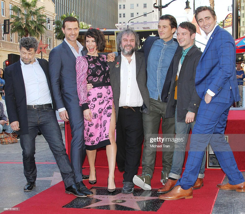 Sir Peter Jackson Honored With Walk Of Fame Star