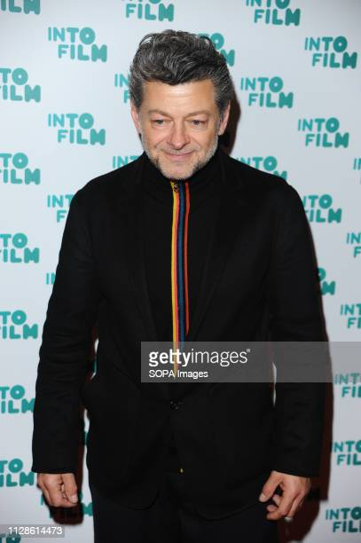 Andy Serkis seen on the red carpet during the Into Film Awards The Into Film Awards pays tribute to outstanding 519 year olds from across the UK who...