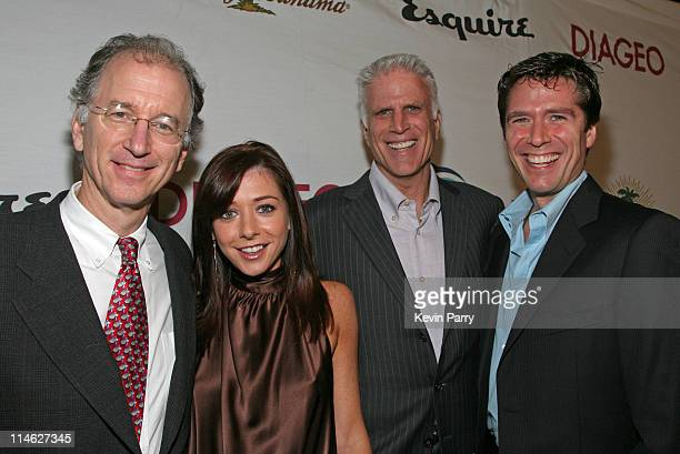Andy Sharpless Alyson Hannigan Ted Danson and Alexis Denisof