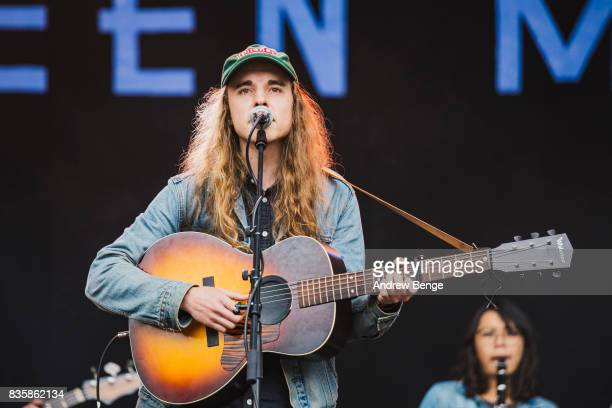 Andy Shauf performs on the Mountain stage during 4 at Green Man Festival at Brecon Beacons on August 20, 2017 in Brecon, Wales.