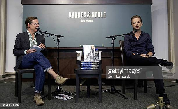 Andy Spade and David Spade sign copies of 'Almost Interesting Everything You Didn't Want to Know About Me' at Barnes Noble Union Square on October 26...