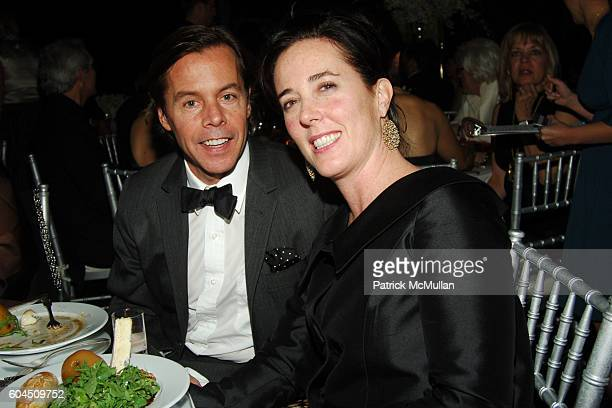 Andy Spade and Kate Spade attend L'OREAL Legends Gala Benefiting The OVARIAN CANCER RESEARCH FUND at The American Museum of Natural History on...