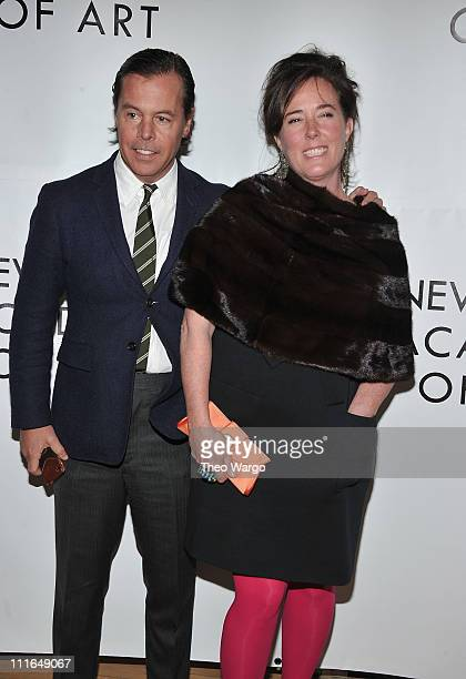 Andy Spade and Kate Spade attend the Tribeca Ball 2011 at the New York Academy of Art on April 4 2011 in New York City