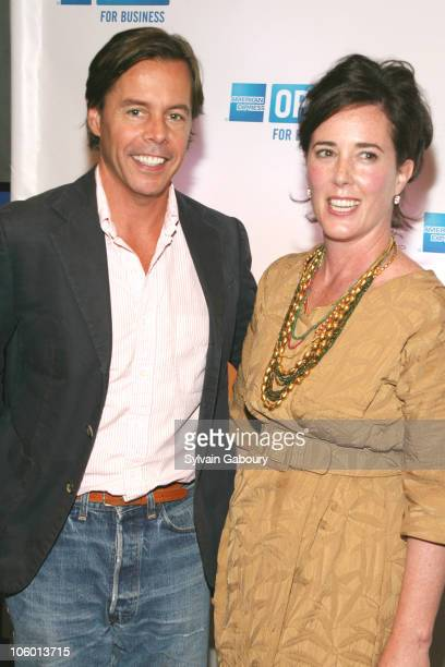 Andy Spade and Kate Spade during Making A Name For Yourself New York Arrivals July 27 2006 at The Nokia Theater in New York New York United States