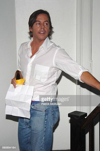 Andy Spade attends An Evening of Short Films hosted by Jack Spade at The National Arts Club on July 28 2005 in New York City