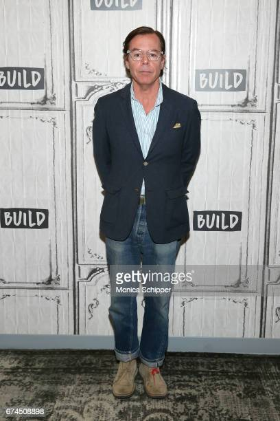 Andy Spade attends Build Series Presents Kate Spade and Andy Spade Discussing Their Latest Project Frances Valentine at Build Studio on April 28 2017...