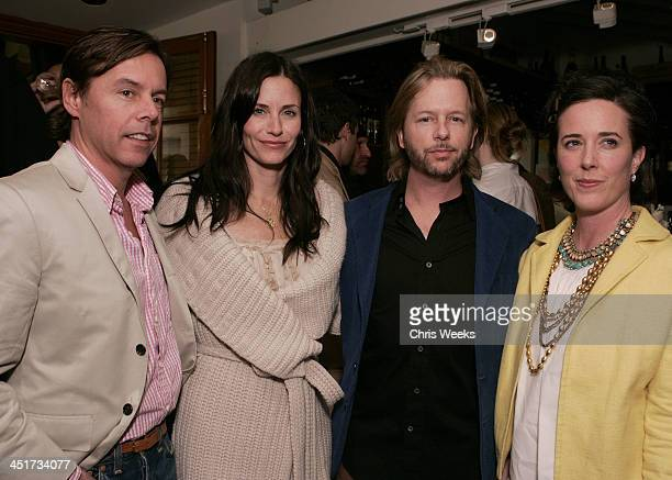 Andy Spade Courteney Cox Arquette David Spade and Kate Spade