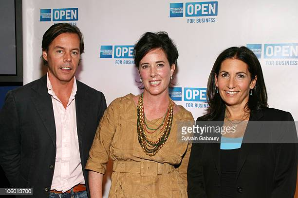 Andy Spade Kate Spade and Bobbi Brown during Making A Name For Yourself New York Arrivals July 27 2006 at The Nokia Theater in New York New York...