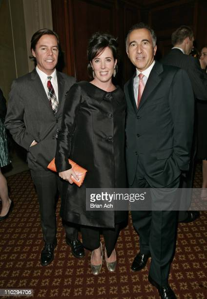 Andy Spade Kate Spade and Patrick BousquetChavanne