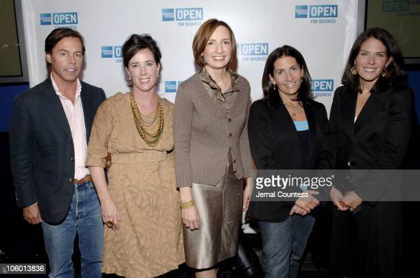 Andy Spade Kate Spade Susan Sobbott President of OPEN Bobbi Brown and Jean Chatzky