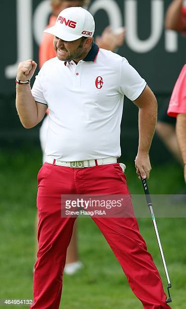 Andy Sullivan in action during the final round of the Joburg Open at Royal Johannesburg and Kensington Golf Club on March 1 2015 in Johannesburg...