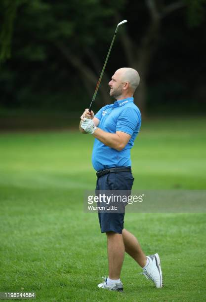 Andy Sullivan of England plays a practice round ahead of the South African Open at Randpark Golf Club on January 08, 2020 in Johannesburg, South...