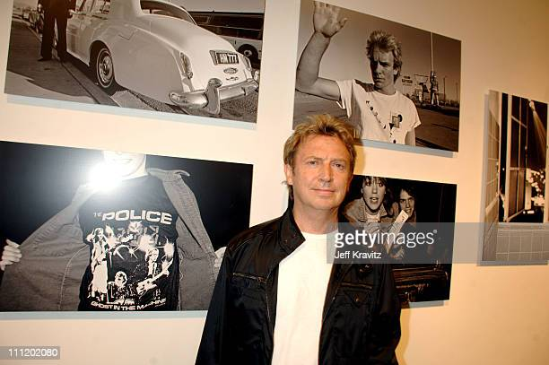 Andy Summers during Andy Summers of The Police Photo Exhibit at Frank Pictures Gallery in Santa Monica California United States