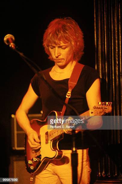 Andy Summers from The Police performs live on stage at the Bottom Line in New York City on April 03 1979